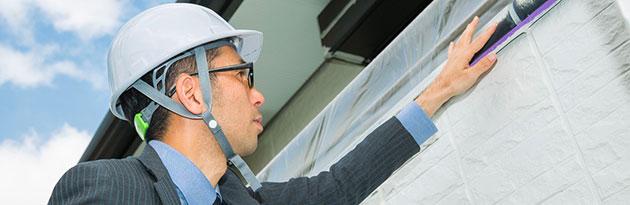 シーリングの工事品質が寿命に左右されます。