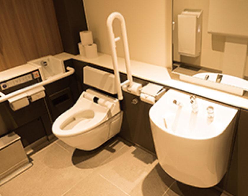 トイレの改修は設計・施工者としての力量とセンスが十分に現れてくる工事の一つです。
