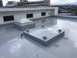 マンション屋上防水工事②福岡市