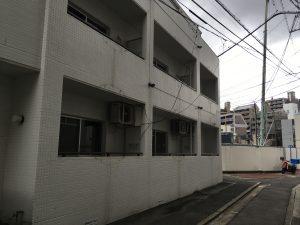 アパートの外壁塗装①福岡市